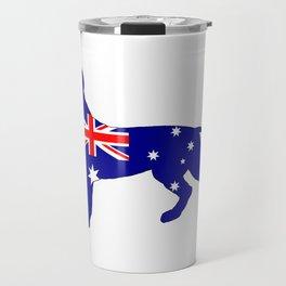 Australian Flag - Pit Bull Terrier Travel Mug