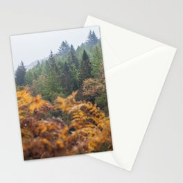 The Yellow and the green Stationery Cards