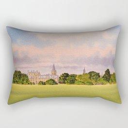 Christchurch Meadow Oxford City England Rectangular Pillow
