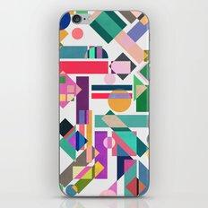 Geometry 2 colorful iPhone & iPod Skin