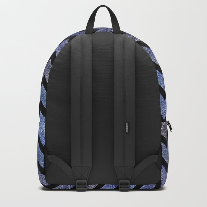 Glitter Chevron Backpack