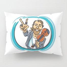 V for Violin - 2 Pillow Sham