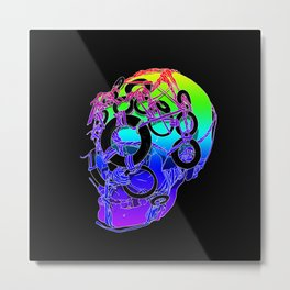 The Bounden Skull Metal Print