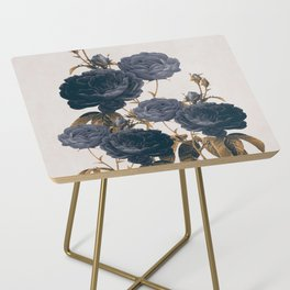 blue flowers Side Table
