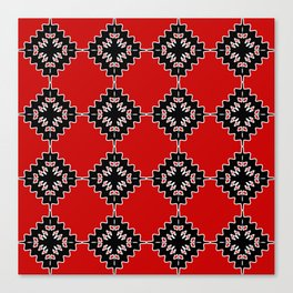 Native ethnic pattern Canvas Print