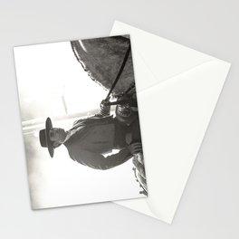 le cavalier dans la lumière Stationery Cards