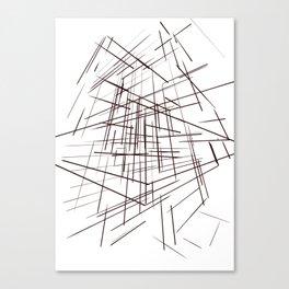 warp Canvas Print