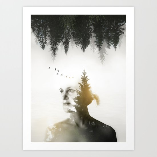 Soul of Nature Art Print