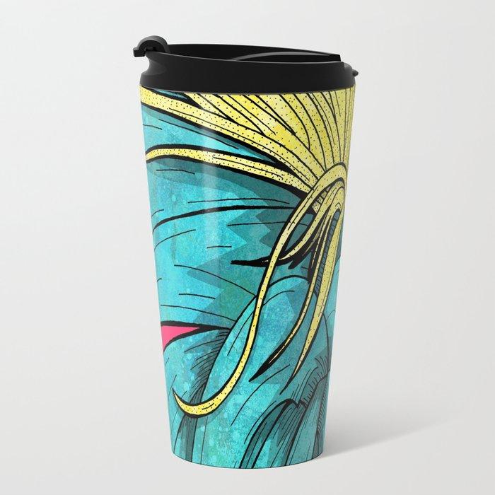 Tropical Plant Travel Mug
