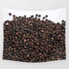 Black pepper texture Wall Tapestry