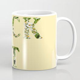Fck It - Yellow Coffee Mug
