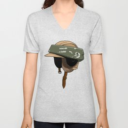 Rebel with a cause Unisex V-Neck