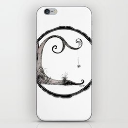 'Think I'll just stay in today' - Familiar and Friend iPhone Skin