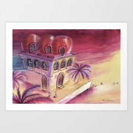San Cataldo Church - Kid design Art Print