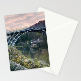 The Bridge across the Severn Gorge Stationery Cards