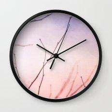 Morning color Wall Clock