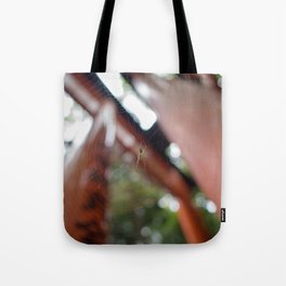 Threads of the Gates Tote Bag