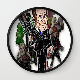 """Agents of S.H.I.E.L.D.: Agent Phil Coulson, The Avengers """"Handler"""" Wall Clock"""