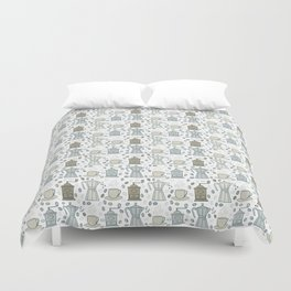 For coffee lovers Duvet Cover