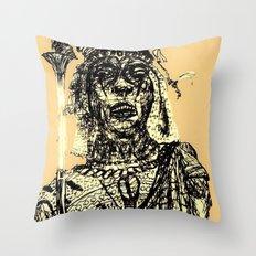 Massai Throw Pillow
