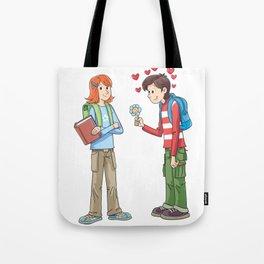 Courtship Tote Bag
