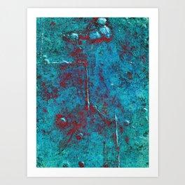 Ninety Degrees Art Print