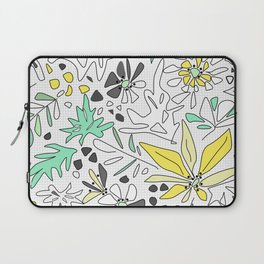 Retro flower pattern 2 Laptop Sleeve