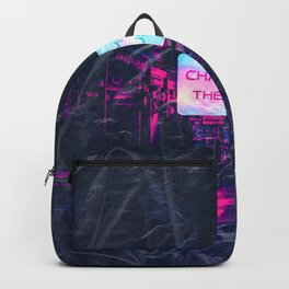 Chaos make the muse Backpack