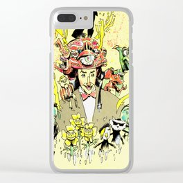 the secret word Clear iPhone Case