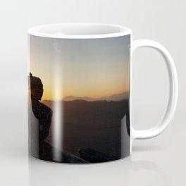 Sunset Behind Nature's Skyscraper Coffee Mug