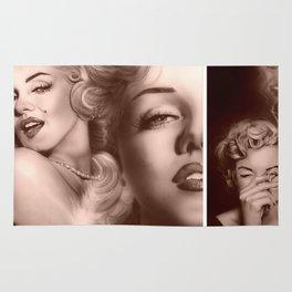 'Marilyn Collage' Rug
