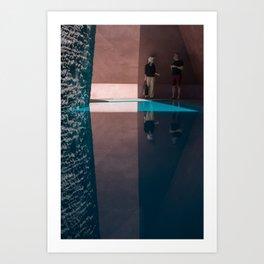Reflections in Skyspace Art Print
