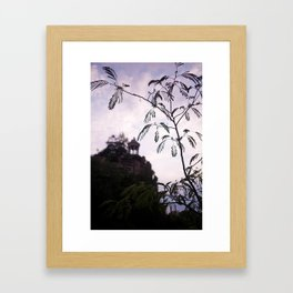 Parc des Buttes Chaumont - in Paris, France Framed Art Print