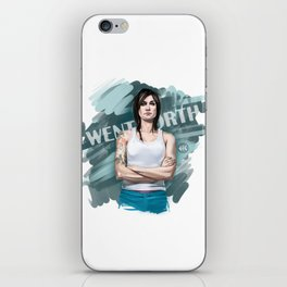 franky iPhone Skin
