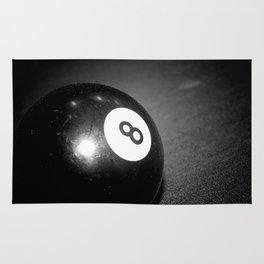 Eight Ball-Black Rug