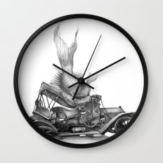 In which a goldfish spoils an outing Wall Clock