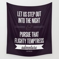 snape Wall Tapestries featuring Adventure by Dorothy Leigh