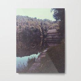 Julia Cabin Metal Print
