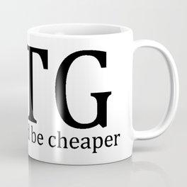 MTG: Drugs would be cheaper Coffee Mug