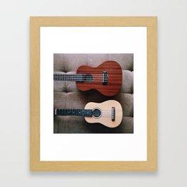 Ukes Framed Art Print