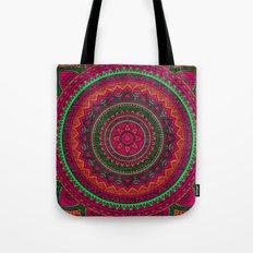 Hippie mandala 64 Tote Bag