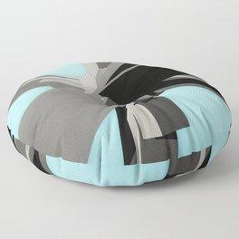 Abstract Rectangular Slabs Floor Pillow