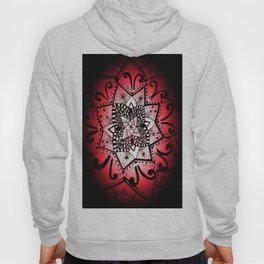 Red Mandala Hoody
