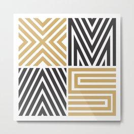Xmas Typo #society6 #decor #buyart Metal Print