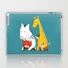 Zebra Tattoo Laptop & iPad Skin