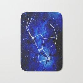 Orion Constellation Star Map Bath Mat