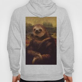 Sloth  Mona Lisa Hoody