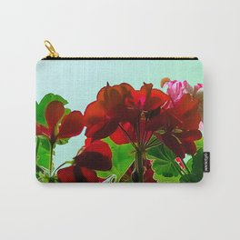 Geranium in red Carry-All Pouch