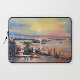 Honey Coloured Sunrise Laptop Sleeve