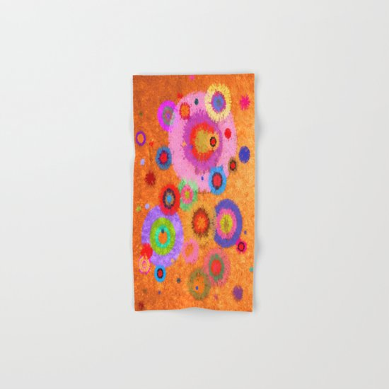 Abstract #427 Splirkles #4 Hand & Bath Towel